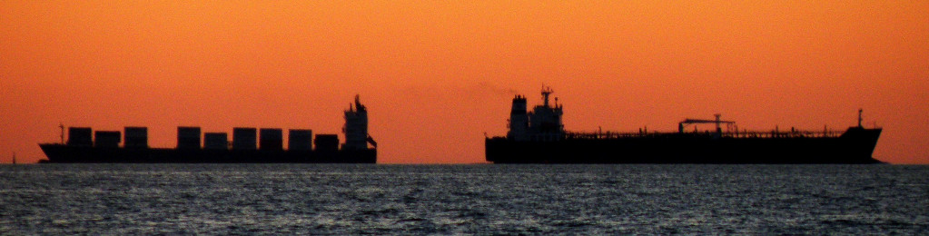 Sonnenuntergang an der Ostsee bei Laboe